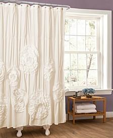 """Serena 72"""" x 72"""" Shower Curtain"""