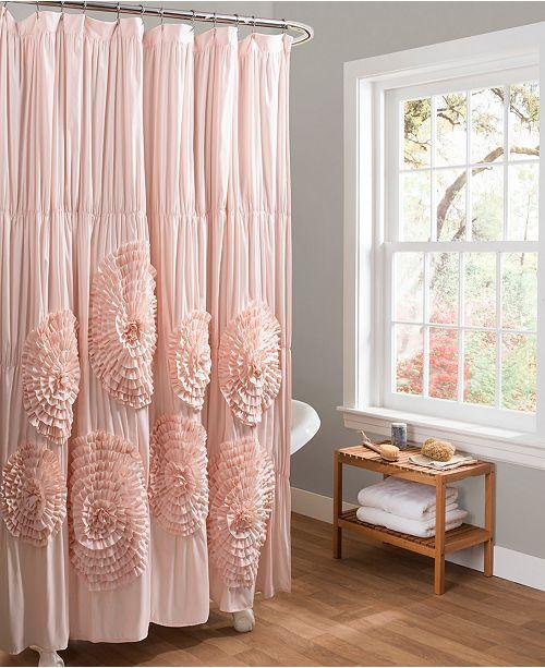 "Lush Decor Serena 72"" x 72"" Shower Curtain"