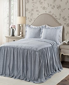 Ticking Stripe 3-Piece King Bedspread Set