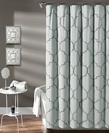 "Avon Chenille Trellis 72"" x 72"" Shower Curtain"