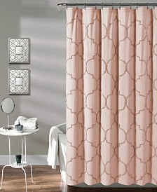 "Avon Chenille Trellis 72"" x 72"" Shower Curtain"