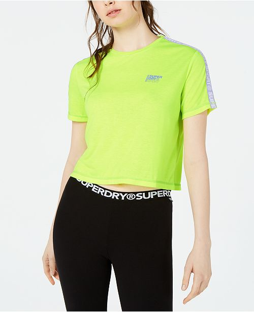 Superdry Cropped Graphic T-Shirt
