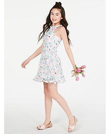 Epic Threads Big Girls Floral Lace Dress, Created for Macy's