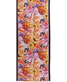 Fraas Tropical Floral Oblong Scarf