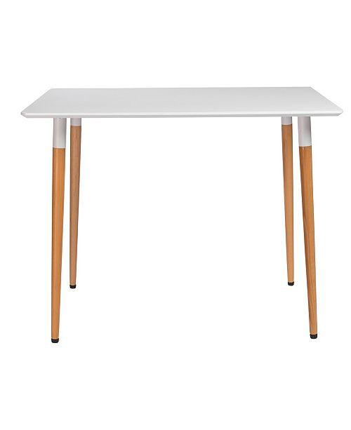 "Euro Style Rufus 47"" Rectangular Dining Table"