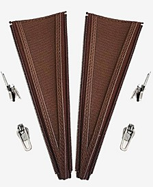 YKK Coil Boot Calf Expander in S to XXXL