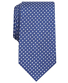 Club Room Men's Classic Star Neat Tie, Created for Macy's