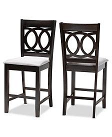 Lenoir Pub Chair Set, Quick Ship (Set of 2)