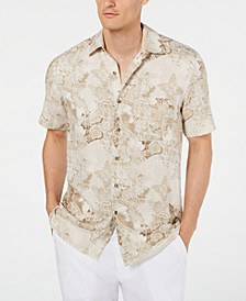 Men's Watercolor Silk Shirt, Created for Macy's