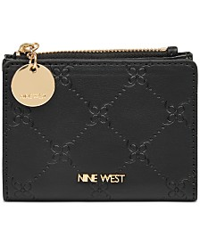 Nine West Double Up Zip Wallet