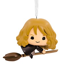 Harry Potter, Hermione on Broomstick Christmas Ornament