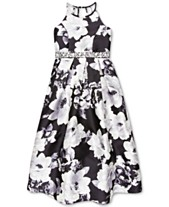 0d7f063081f Speechless Big Girls Floral-Print Embellished-Waist Dress