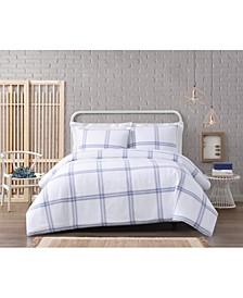 Modern Charm Cotton 3 Piece King Duvet Set