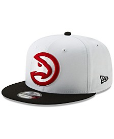 New Era Atlanta Hawks White XLT 9FIFTY Cap