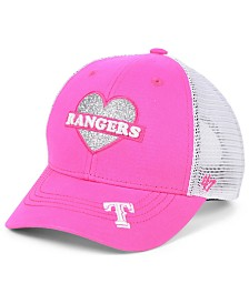 '47 Brand Girls' Texas Rangers Sweetheart Meshback MVP Cap
