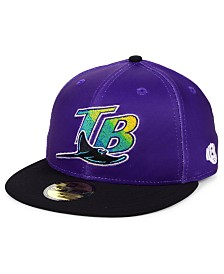New Era Tampa Bay Rays Cooperstown Flip 59FIFTY Fitted Cap