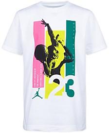Jordan Little Boys 23-Print Cotton T-Shirt