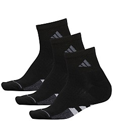 adidas 3-Pk. Cushioned Quarter Women's Socks