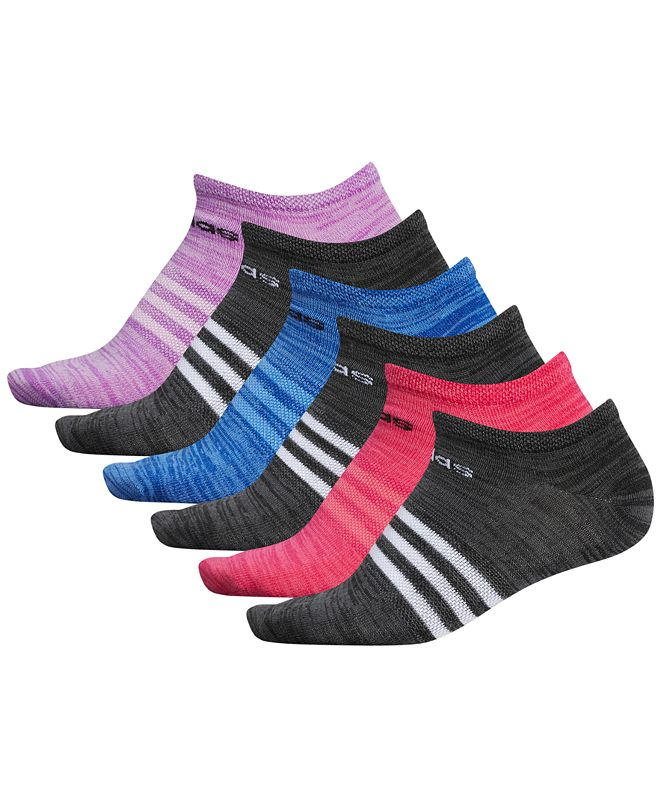 adidas 6-Pk. Superlite No-Show Women's Socks
