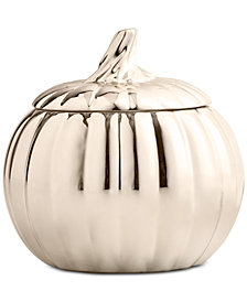 Martha Stewart Collection Pumpkin Covered Soup Bowl, Created for Macy's