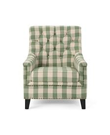 Jaclyn Club Chair, Quick Ship