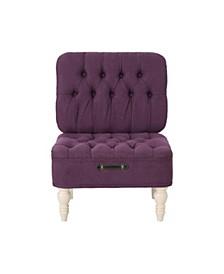 Kamela Vanity Chair, Quick Ship