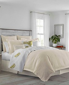 Tommy Bahama St. Armands Alabaster Duvet Set, Full/Queen