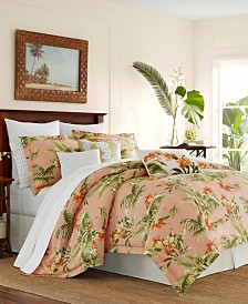 Tommy Bahama Siesta Key Cantaloupe Duvet Set, Full/Queen