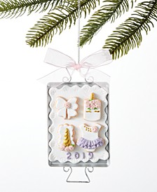 Ballet Cookie Plate Ornament Created For Macy's