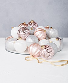 Dreamland Shatterproof Multicolor Ornaments, Set of 32, Created for Macy's