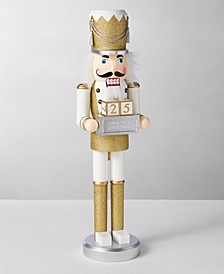 Shine Bright Gold Countdown Nutcracker, Created for Macy's