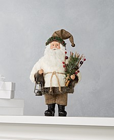 Forest Standing Santa with Lantern, Created for Macy's