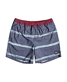 "Men's Dunes Stripes Volley 17"" Swim Short"