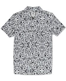 Men's Destination Regular-Fit Printed Poplin Shirt