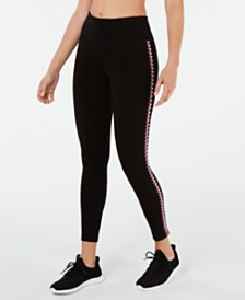 Ideology Blanket-Stitch Leggings, Created for Macy's