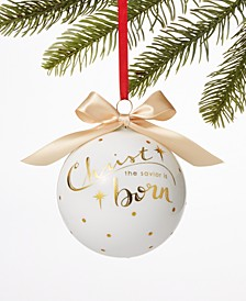 Joy To The World 2019 Christ is Born Ornament, Created for Macy's