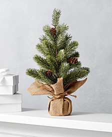The Holiday Collection Christmas Tree with Burlap Base, Created For Macy's