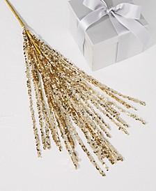 Black Tie Gold Tassel Pick Ornament, Created for Macy's