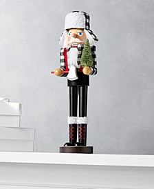 The Holiday Collection Plaid Nutcracker, Created for Macy's