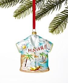 Holiday Lane Hawaii Hawaiian Shirt Ornament, Created for Macy's