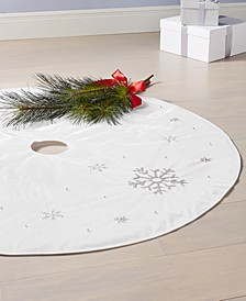 Blue Snowflake Tree Skirt, Created for Macy's