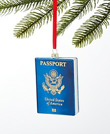 World Traveler Passport Book Ornament, Created for Macy's