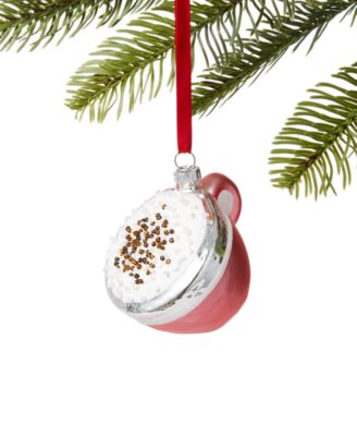Coffee Christmas Ornament.Sweet Tooth Collection Created For Macy S