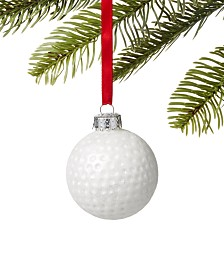 Holiday Lane Sports Golf Ball Ornament, Created for Macy's