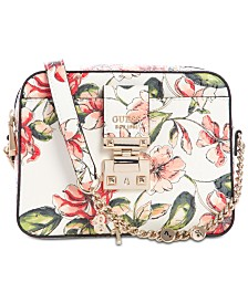 GUESS Tiggy Floral Camera Bag