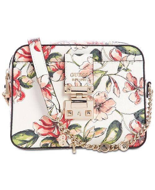 GUESS Tiggy Floral Camera Bag