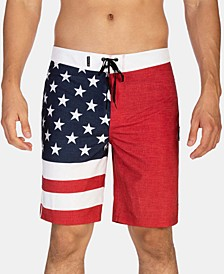 "Men's Phantom Patriot 20"" Board Shorts"
