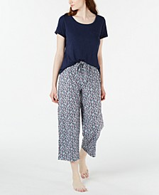 Pajama Tops & Pants Separates, Created for Macy's