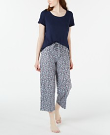 Charter Club Pajama Tops & Pants Separates, Created for Macy's