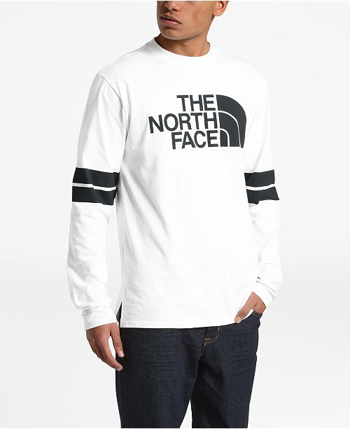 f607e4072 Men's Half Dome Collegiate Logo Graphic Long Sleeve T-Shirt